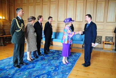 Meeting Queen Beatrix