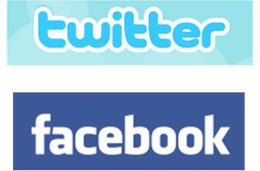 Facebook & Twitter logo