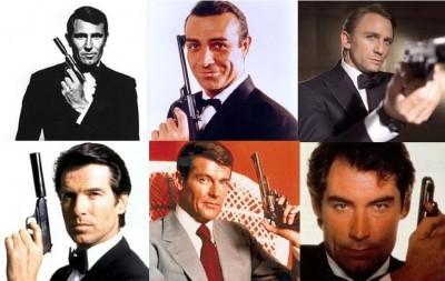 6x James Bond