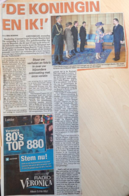 De Telegraaf. January 9th, 2013