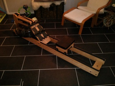 WaterRower assembly, take 2 – success!