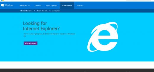 IE on Windows 10