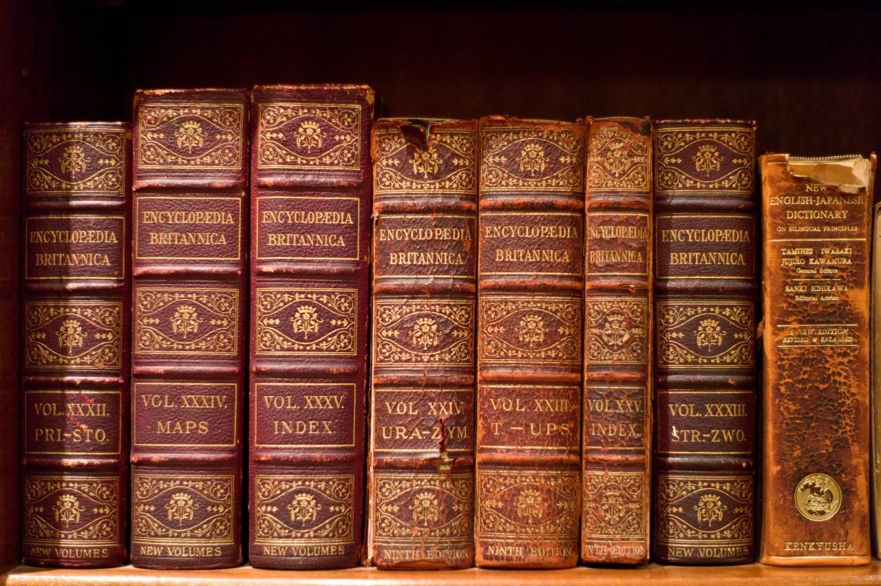 Volumes of the Encyclopædia Britannica (9th edition, 1875–1889)