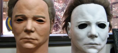 William Shatner mask - Michael Myers
