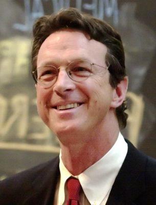 Michael Crichton - portrait