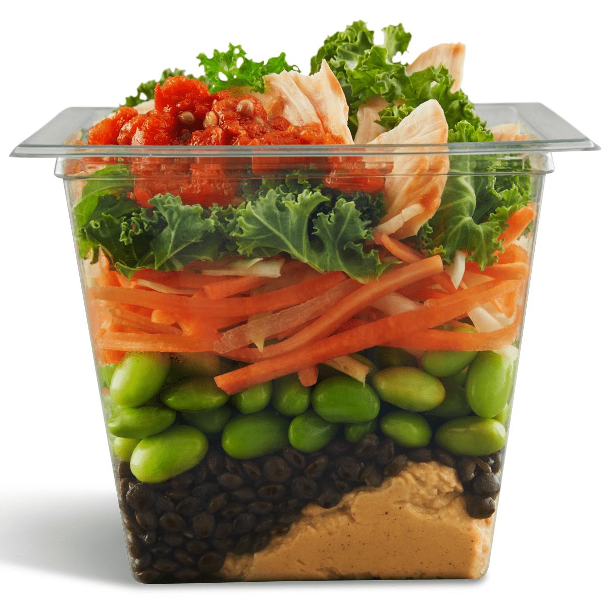 McDonald's hummus salad