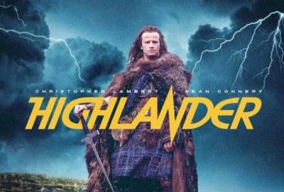 title screen movie Highlander